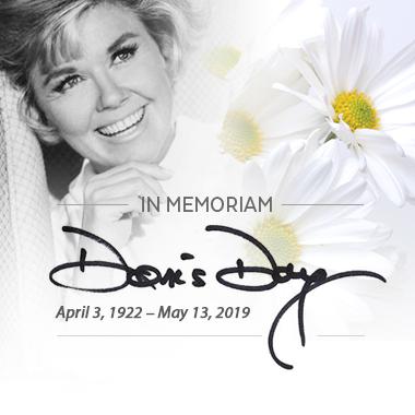Ντόρις Ντέι  3 Απριλίου 1922-13 Μαΐου 2019
