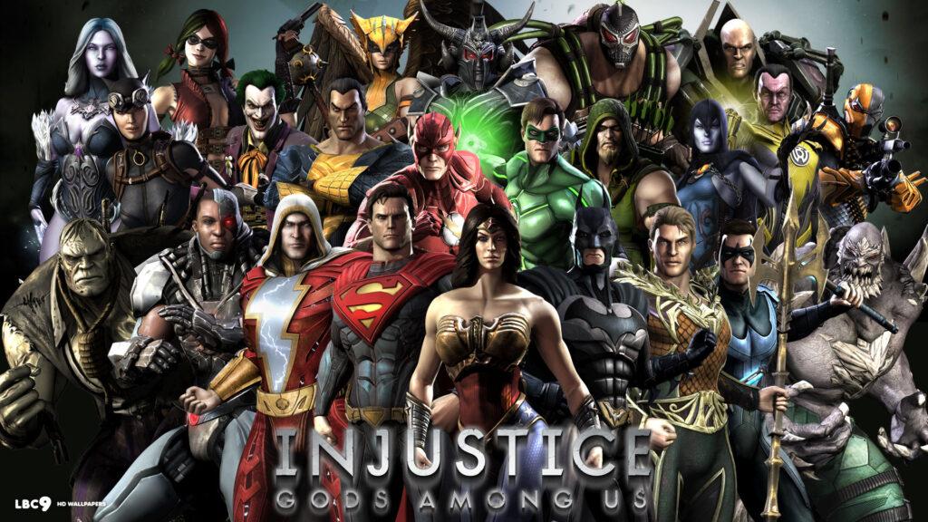 Δωρεάν ο κόμιξ fighting τίτλος  Injustice: Gods Among Us για PS4, Xbox και PC